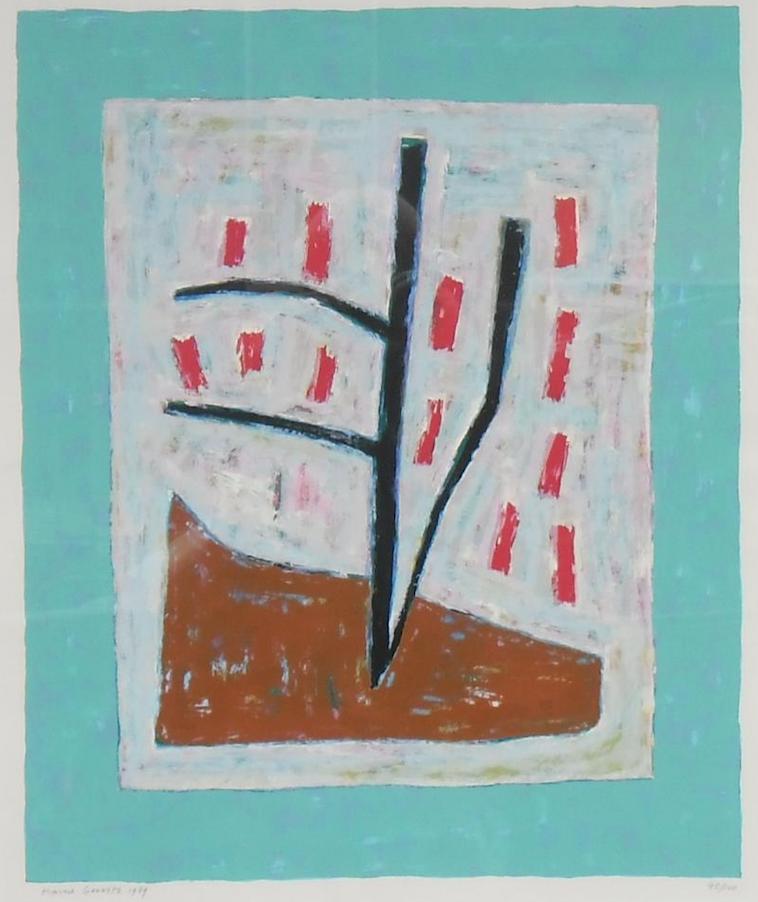 1a Harrie Gerritz, Rode bloesem